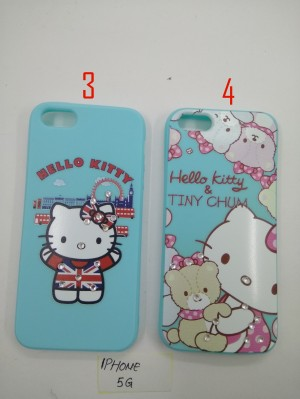 SOFTSHELL BLUE HELLOKITTY SPARKLING SWAROVSKY FOR IPHONE 5G