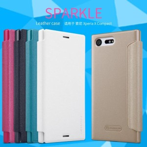 Nillkin Flip Case (Sparkle Leather Case) - Sony Xperia X Compact