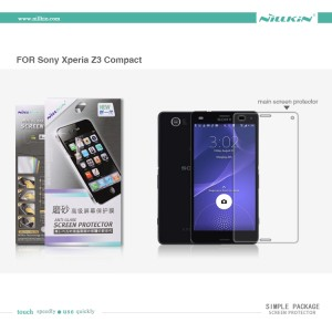 Nillkin Screen Protector (Simple Pack) - Sony Xperia Z3 Compact Matte