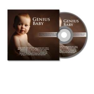 CD Musik Terapi Otak Genius Baby