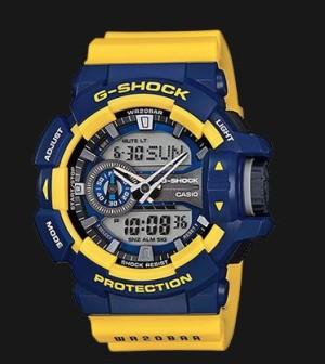 Casio Jam Tangan G-Shock GA-400-9BDR