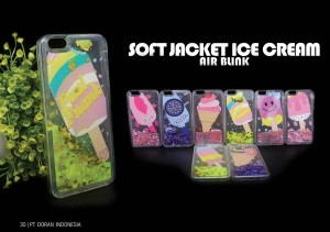 Soft jacket Air Blink Ice Cream Iphone 5