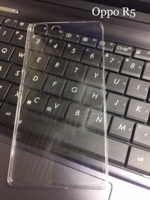 Hardcase Case Oppo R5/R5s Polos Bening Transparan Casing Plastik Keras