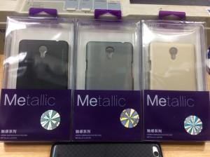 Hardcase Case Sevendays Metalic For Oppo Joy 3 Original