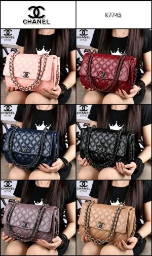 Chanel Yuni shara line Black Hardware like Ori Leather