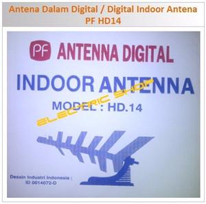 Antena Dalam Digital / Digital Indoor Antena - PF HD14