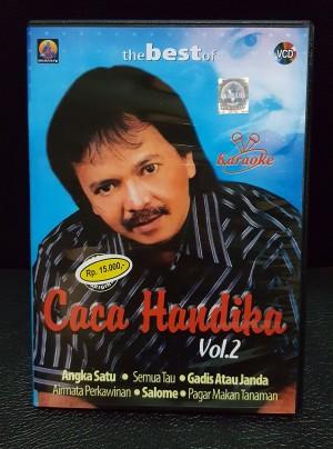 VCD Asli Resmi Original Murah - Karaoke THE BEST OF CACA HANDIKA VOL 2