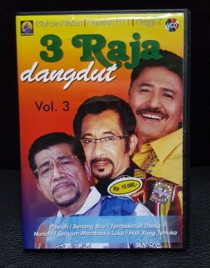 VCD Asli Resmi Original Murah - Karaoke 3 RAJA DANGDUT VOL 3