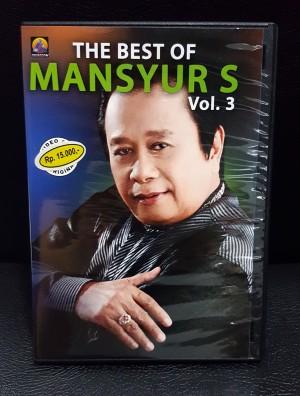 VCD Asli Resmi Original Murah - Karaoke THE BEST OF MANSYUR S VOL 3