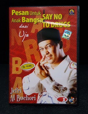 VCD Asli Resmi Original Murah - SAY NO TO DRUGS - UST JEFRI AL BUCHORI