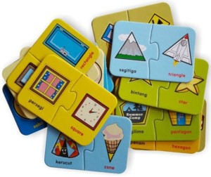 FLASH CARD PUZZLE The Shapes