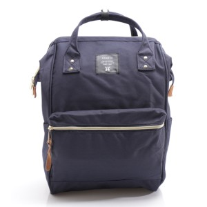 Anello Oxford Backpack Tas Ransel Casual Multifungsi - Navy