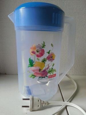 Teko Listrik Plastik 2,1 Liter Merk Lionstar