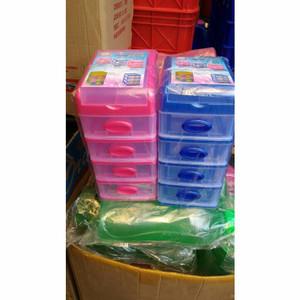 Promo [Shinpo] Mini Box Container Felicia 4 susun Murah Berkualitas