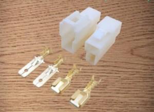 Socket kabel 2 pin besar ( set + skun )