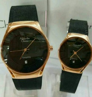 Jam tangan couple alexandre christie raffi ahmad & gigi series