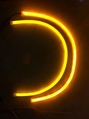 drl flexible 60cm bisa sein led audy style