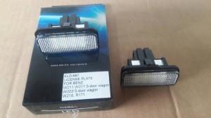 Lampu LED Plate Nomor Mercedes Benz W 211 / W 203 / W 219 / R 171