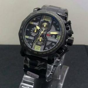Best seler.!! Jam tangan pria Quiksilver chrono + tgl aktif, kw super