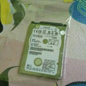 hdd/hardisk 320gb hgst sata for laptop notebook garansi 1tahun full