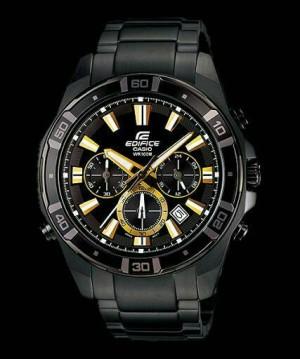 Casio Edifice Efr 534 Black Gold