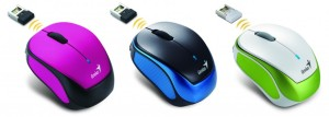 GENIUS MICRO TRAVELLER 9000R V2 MOUSE WIRELESS