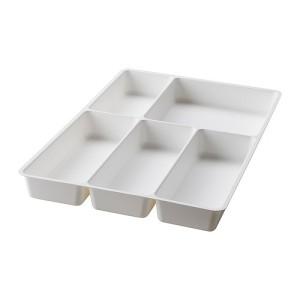 IKEA STODJA - Baki Peralatan Makan, Putih, 31x50cm