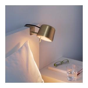 IKEA VARV Lampu Sorot Jepit,
