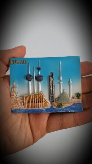 oleh oleh magnet kulkas terbaru negara kuwait