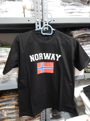 kaos murah souvenir mancanegara norwegia