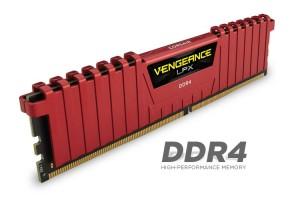 Corsair Vengeance LPX RED DDR4 2X8GB 2666MHZ