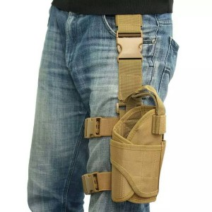 Gun Holster Pouch Wrap-around thigh