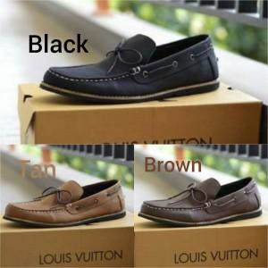 Sepatu Casual, Sepatu Gaya , Sepatu Louis Vuitton Zafato Pria