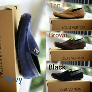 Sepatu mocasin , Sepatu Gaya , Sepatu Louis Vuitton Floren murah