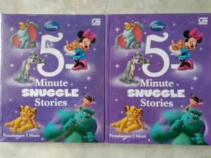 Dongeng Disney 5 Minute Snuggle Stories (Petualangan 5 Menit)