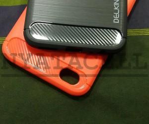 SoftShell Delkin Carbon Fiber Vivo V5+ Plus Case/Ipaky/Capsule 0704