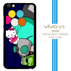 gir invader zim hello kitty Z3264 Casing Premium Vivo V5 Custom Case