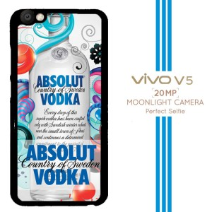 absolut vodka Z3231 Casing Premium Vivo V5 Custom Case