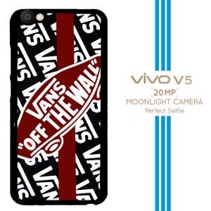 White Vans Off the Wall A0459 Casing Premium Vivo V5 Custom Case
