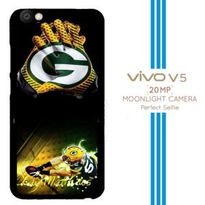 Green Bay Packers X3377 Casing Premium Vivo V5 Custom Case