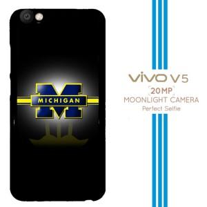Michigan Wolverines X3347 Casing Premium Vivo V5 Custom Case