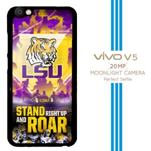 LSU Tigers Logo X3346 Casing Premium Vivo V5 Custom Case