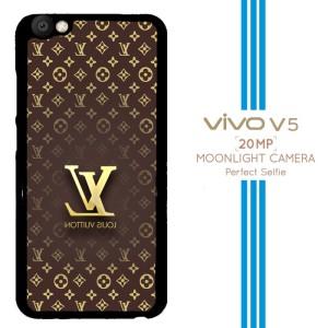 louis vuitton wallpaper X3332 Casing Premium Vivo V5 Custom Case
