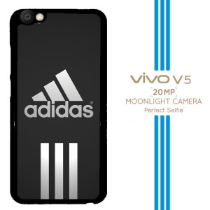 Adidas black stripes center X3337 Casing Premium Vivo V5 Custom Case