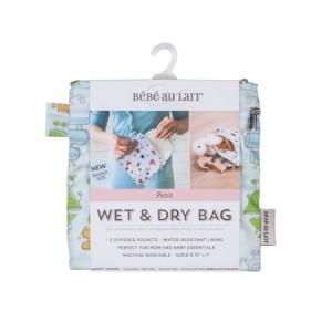 Bebe Au Lait Wet/Dry Bag Petite Robots