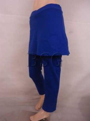 Celana senam Wanita / Celana Panjang Rok / BSKP504-Blu, M
