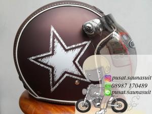 Helm Bogo Gix Nasa STAR Brown