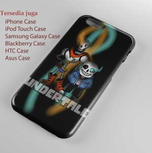 undertale sans and papyrus iPhone Case & All Case HP