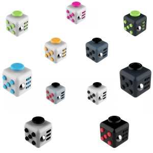FIdget cube premium anti stress mainan toys finger button bosan