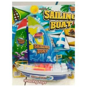 Mainan Kapal Baterai Sailing Boat 9213